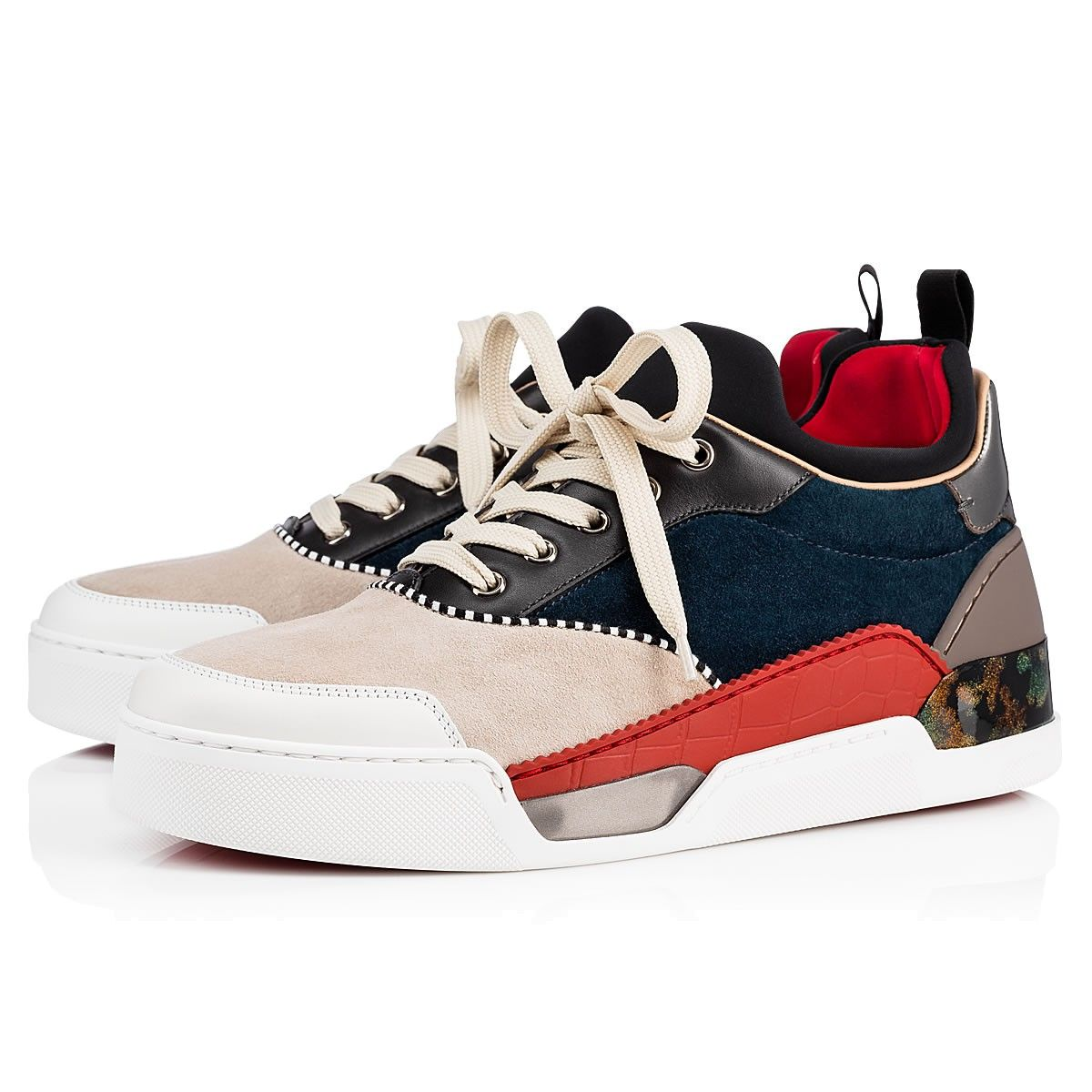 6679de9e6b94 Aurelien Flat Version Multi Patent Leather - Men Shoes - Christian Louboutin