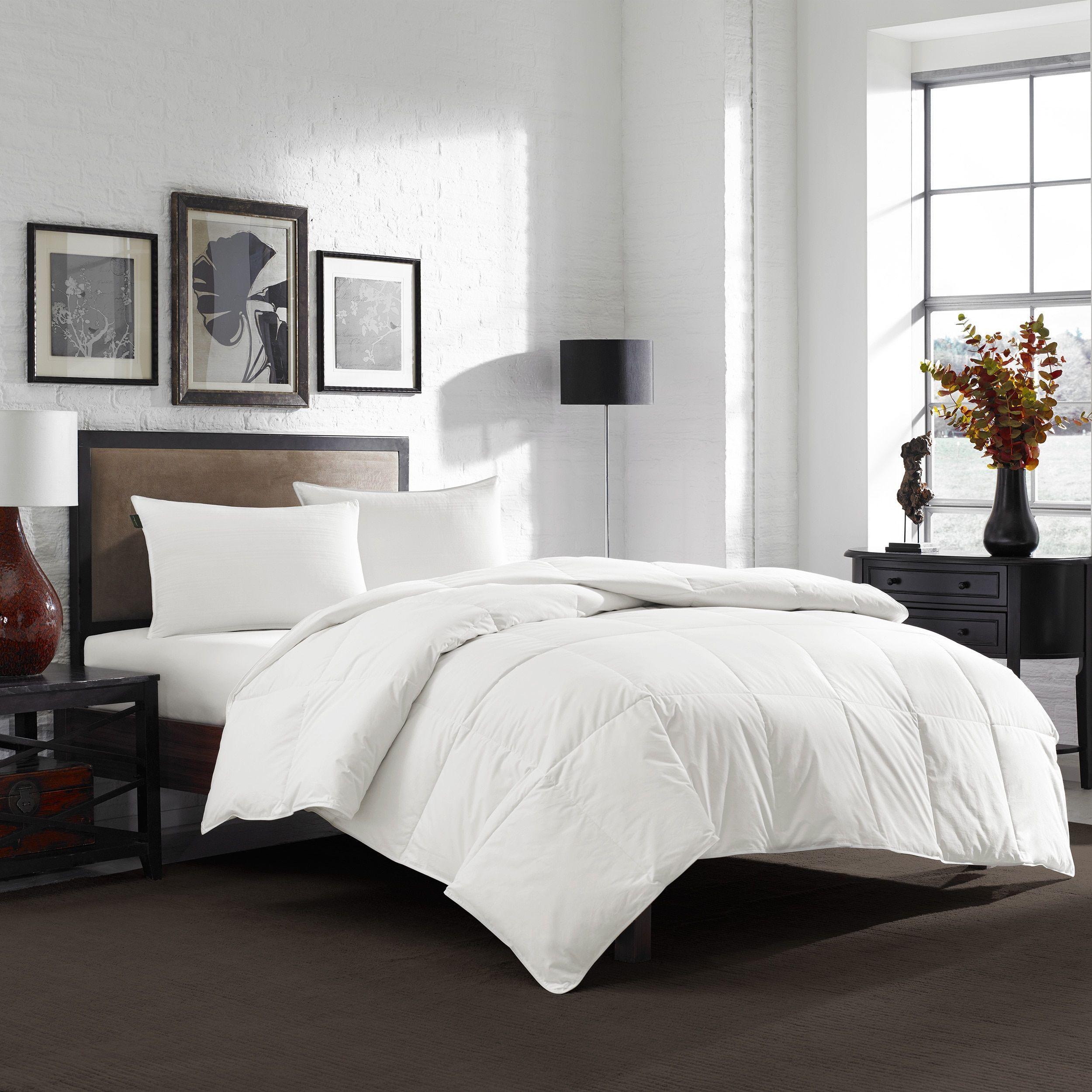Eddie Bauer 550 Fill Power White Down Comforter Queen In 2019