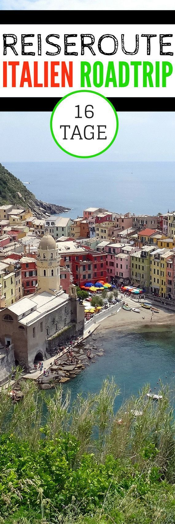 Itinerary - 16 days by car through Italy    TRIP TO THE PLANET -  Itinerary – 16 days by car thro