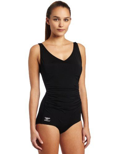 cb0dcc099c Speedo Women`s Endurance Plus Side Shirred Tank Swimsuit  48.95 ...