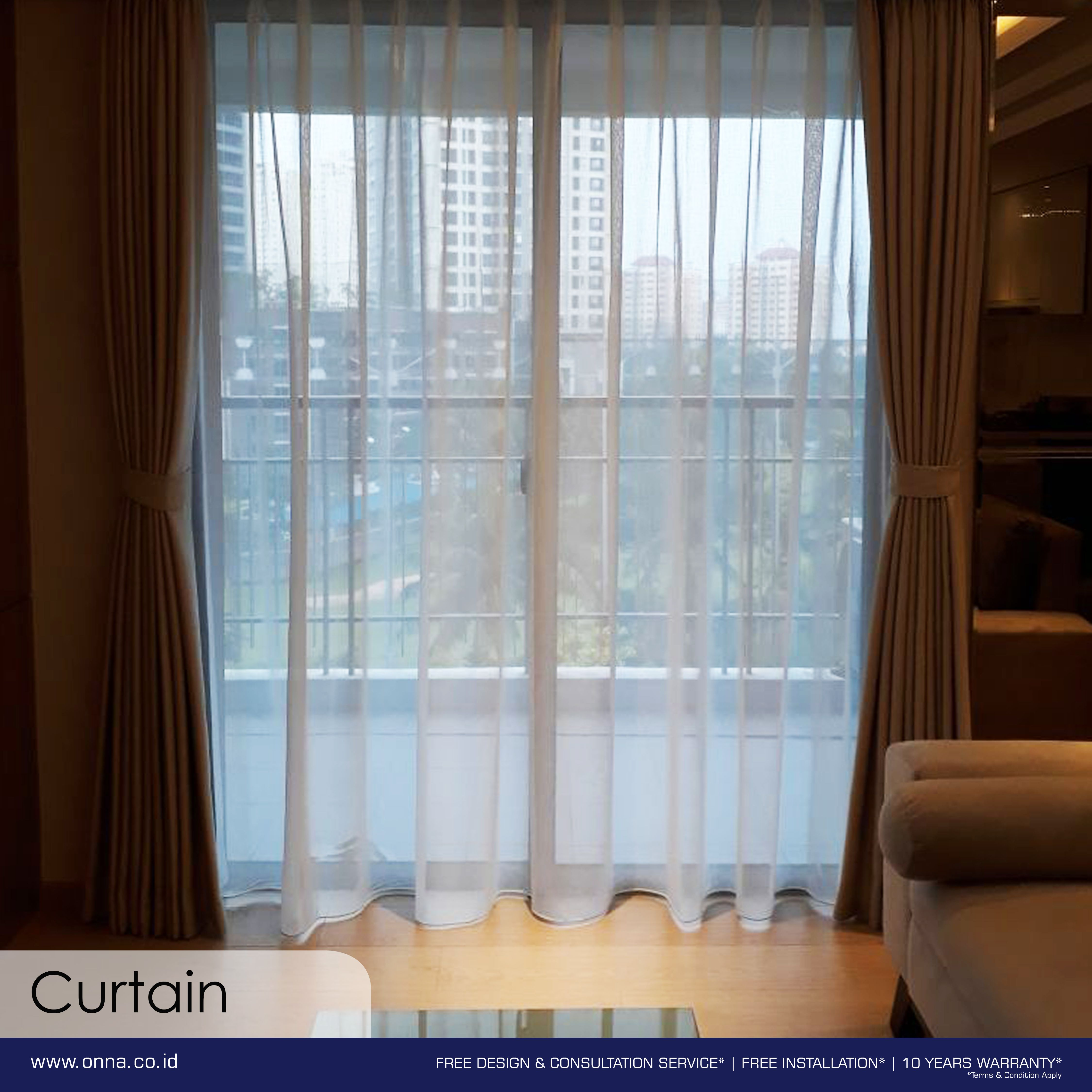 During The Summer Curtain Can Be More Than Just Decorative It