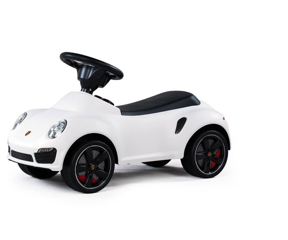 ride on car toy for kid push car licensed porsche 911 turbo white new rideoncars