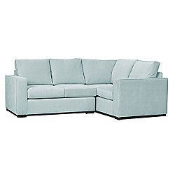 Rocco Right Hand Corner Duck Egg Blue Duck Egg Blue Sectional Couch Couch