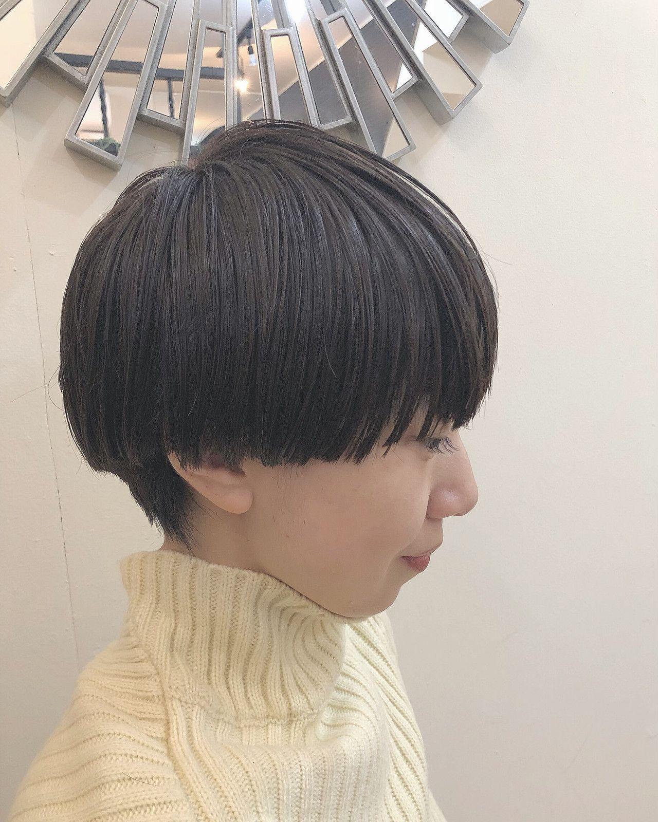 ほんのりセクシーな髪型 メンズライクなマッシュヘア大特集 短い髪