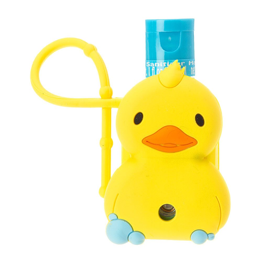 Quacking Duck Holder With Waterless Anti Bacterial Hand Sanitizer