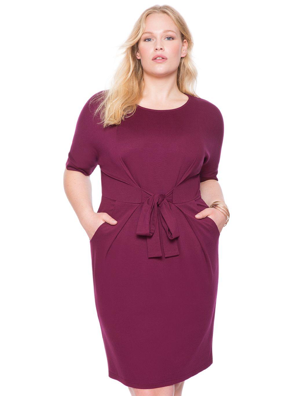 http://www.eloquii.com/draped-dress-with-side-slit/1242118.html?cgid ...