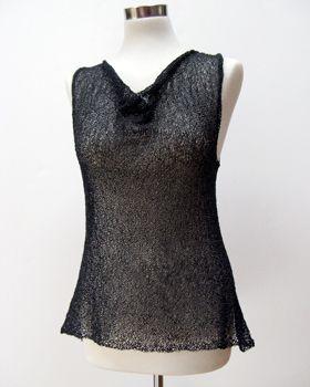 cocoknits sweater vest/tank knitting pattern