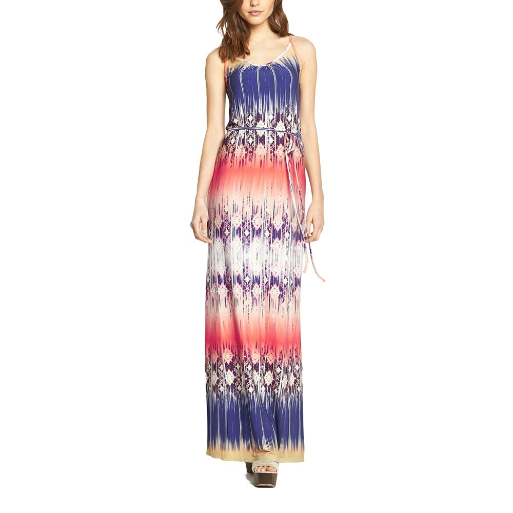 Love Label Printed Maxi Dress by Weekend Dresses on Brands Exclusive
