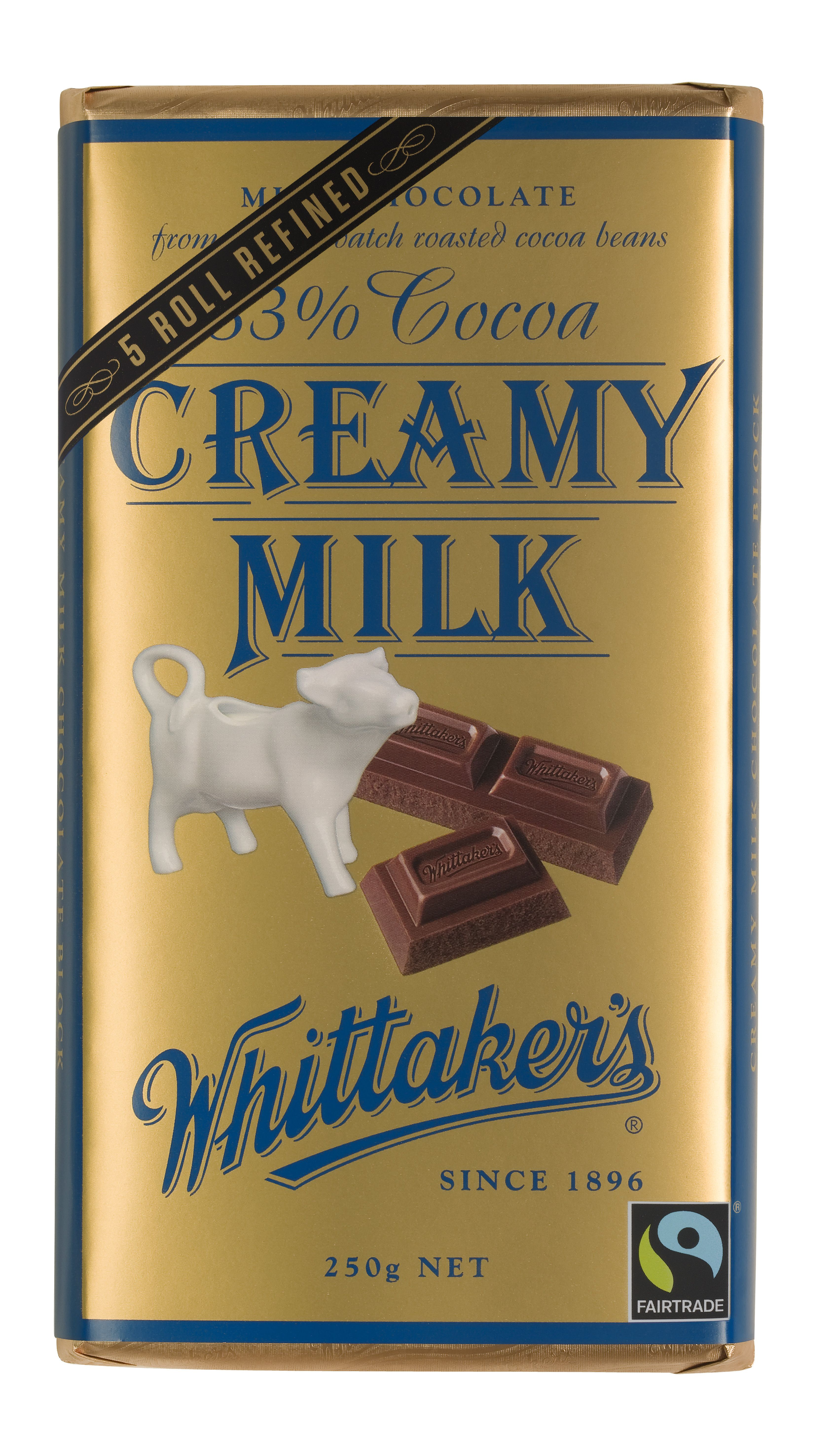 CHOCOLATE - Whittaker's Look for the Fairtrade Certified chocolate ...