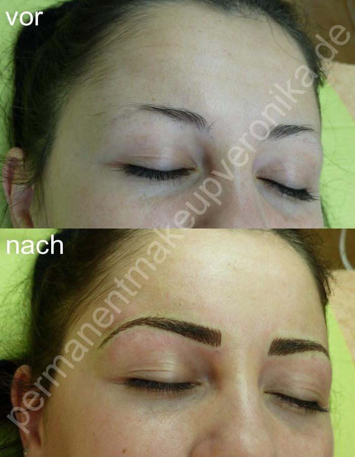 Augenbrauen-Härchenlinien für nur 199 EUR