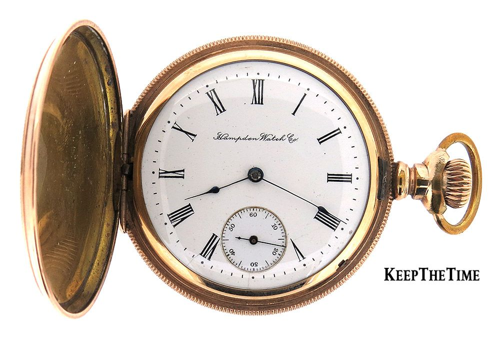 d40315fb1 Hampden Champion Pocket Watch Made in Canton, Ohio, USA KeepTheTime Unique  Online Watch Boutique