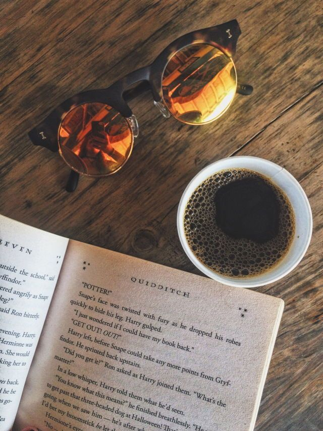 Pin by Whimsy & Wit // A literary & on Book & Beverage