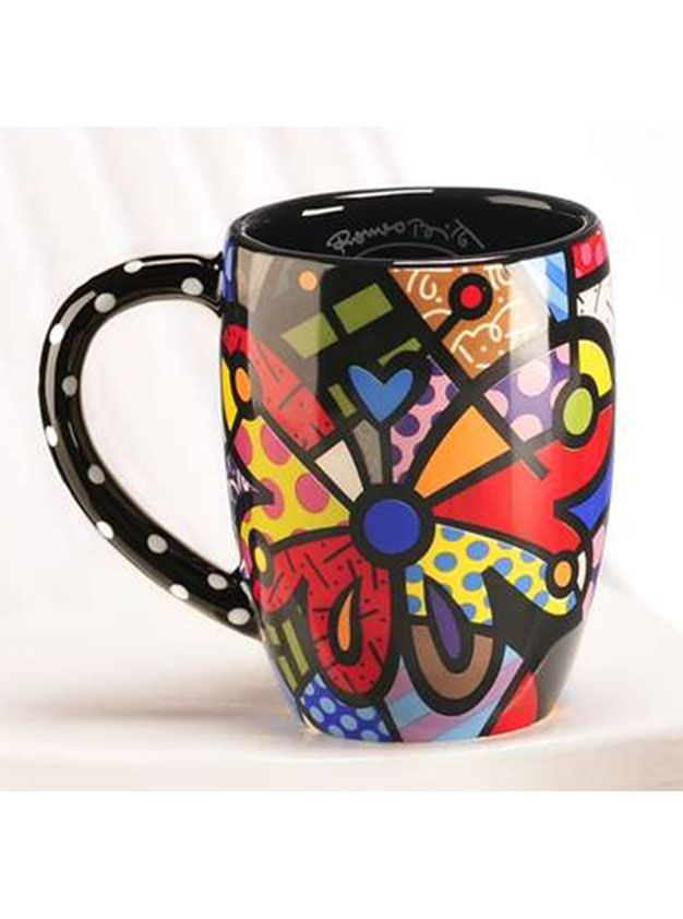 Britto Dolomite Mug (Butterfly)