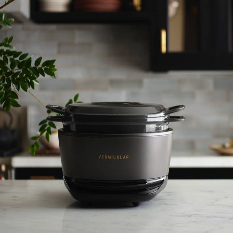 Vermicular Musui Kamado Cast Iron Induction Cooker Elevates Home Cooking By Bringing Together 80 Years Of Japanese Craftsmans Cooking Cooker How To Cook Pasta