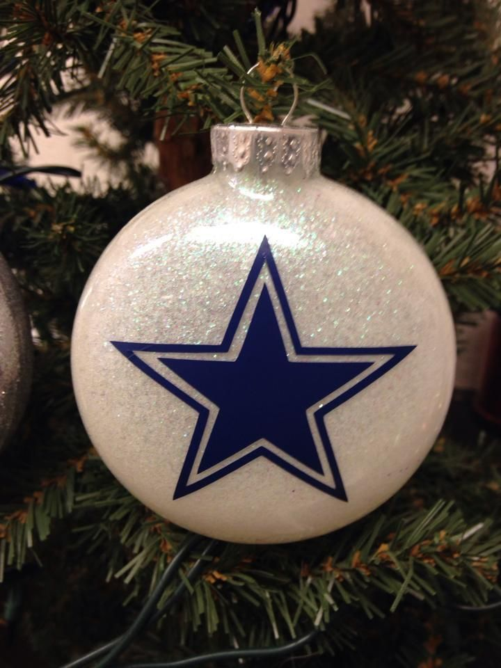 Holiday Christmas Tree Ornament NFL Football Dallas ...