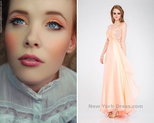 #NewYorkDress Blog // Peachy Dreams // Click through for gorgeous #beauty and #fashion in this peachy hue