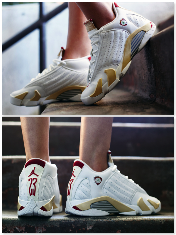 "online retailer 5d264 c6109 ON-FOOT LOOK // AIR JORDAN 14 ""LINEN"" 