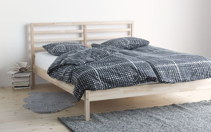 Tarva Bed Frame Pine Queen Ikea Bed Frame Ikea Bed Home