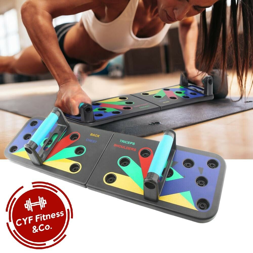 Cyf Fitness 11 In 1 Pushup Board Summer Body Push Up Muscle Up