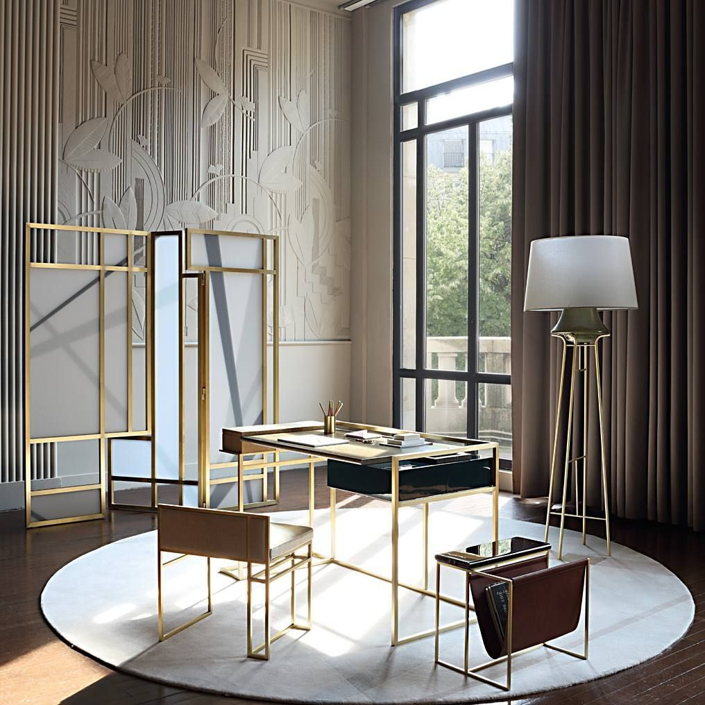 ROCHE BOBOIS Work spaces deserve to be beautiful too