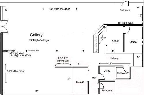 Want To Plan An Art Exhibit At A Gallery Print Off Copies Of Your Art Gallery S Floor Plan And Get Goi Exhibition Plan Studio Floor Plans Art Galleries Design