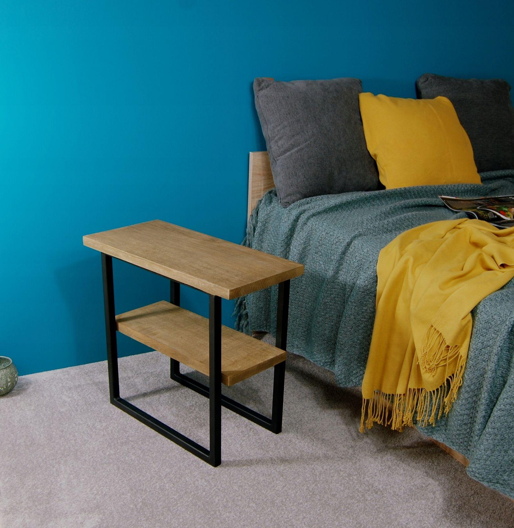 Stolik Nocny Dab Rustykalny K13th 7493899344 Oficjalne Archiwum Allegro Bedside Table Metal Coffee Table Home Decor