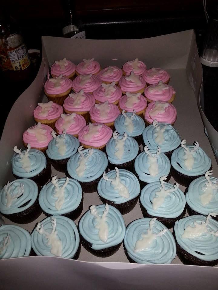 Gender Reveal Buck Or Doe Gender Reveal Cupcakes Gender Reveal Party Gender Reveal Decorations