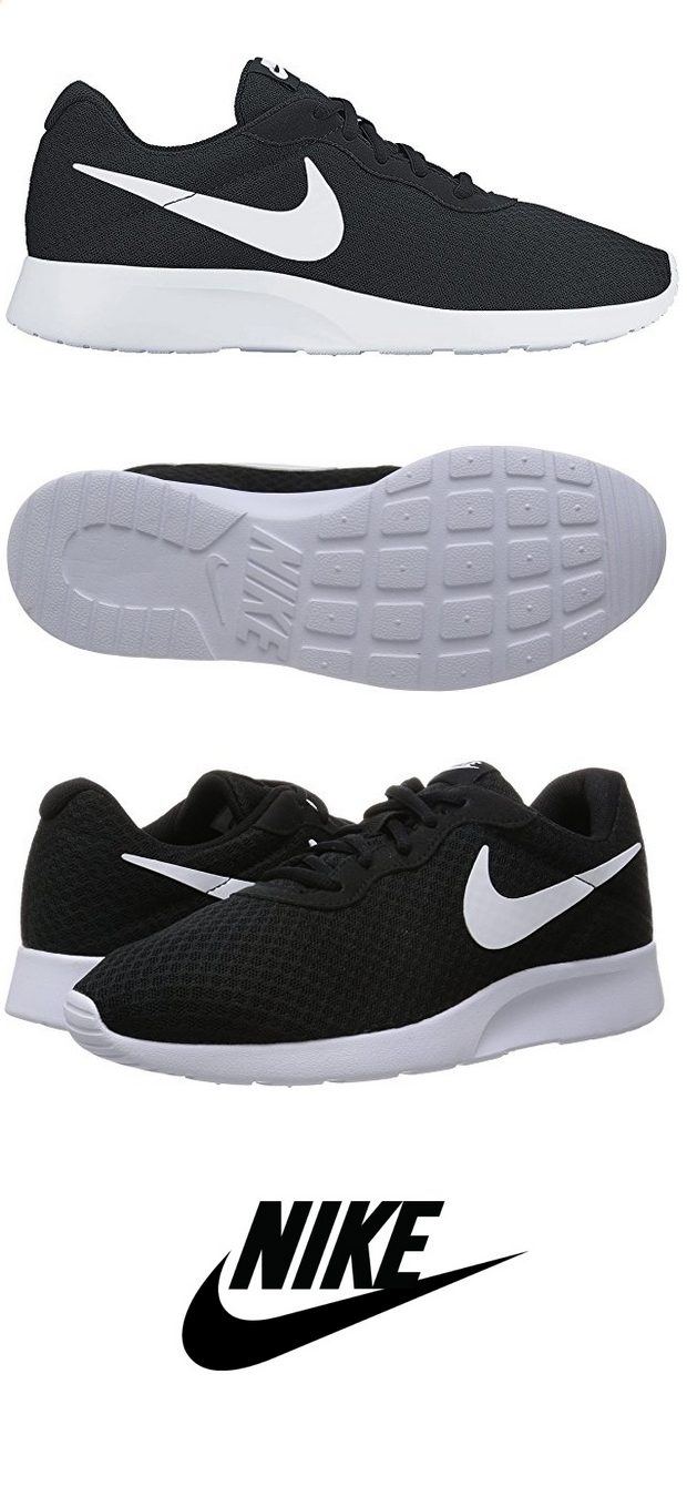 buy popular 17393 ddc36 NIKE Men s Tanjun Sneakers, Breathable Textile Uppers and Comfortable  Lightweight Cushioning  runiningshoes  breathable  breathableshoes   Athletic ...