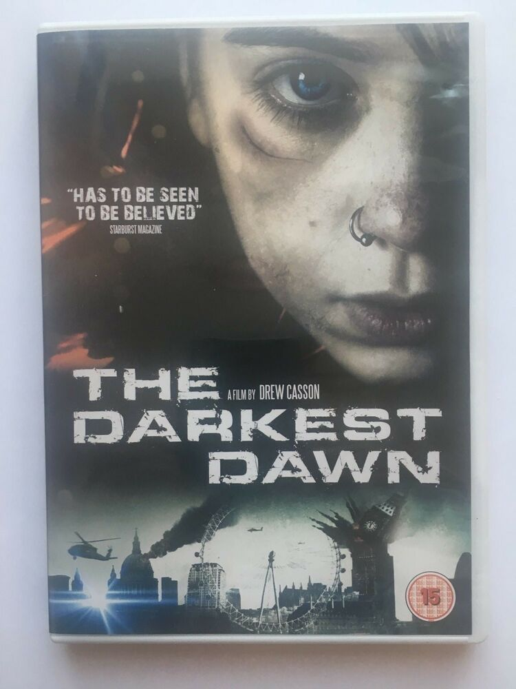 The Darkest Dawn Dvd 2016 Uk Region 2 British Sc Fi Film Art