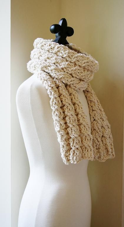 Crochet Cable Scarf Patterns 10 Projects Youll Love Crochet