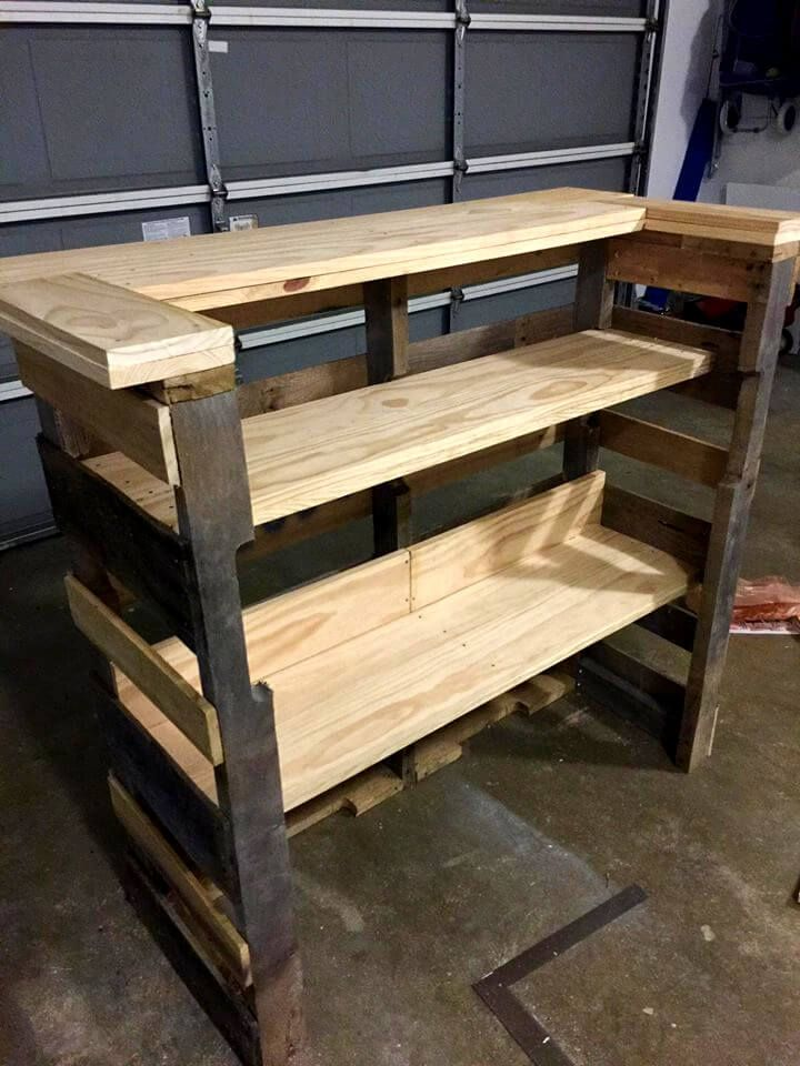 Build A Pallet Bar Step By Step Instructions In 2020 Pallet Bar Diy Pallet Bar Diy Outdoor Bar