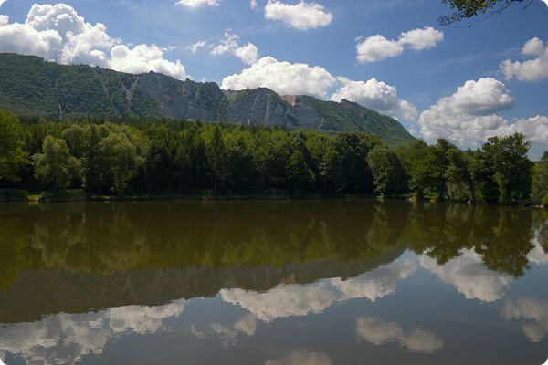 Gyári-tó (Bél-kő in the distance), Bükk, Hungary