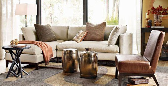 Sectional Sofas vs. Sofa and Chairs | Chaise lounges, Room decor ...