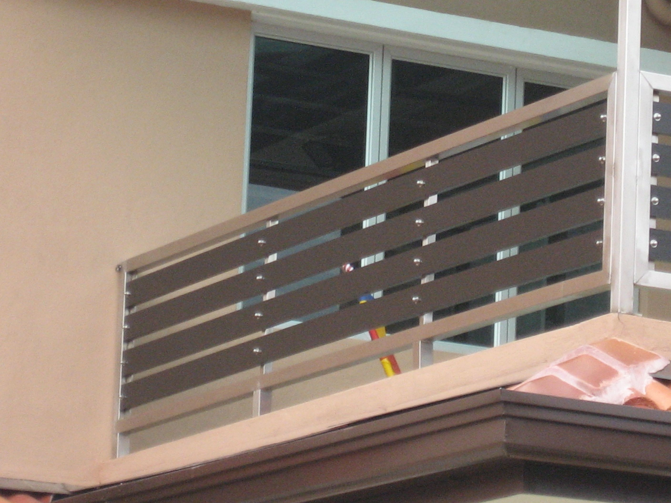 Modern terrace railing design google search for my for Modern balcony railing design