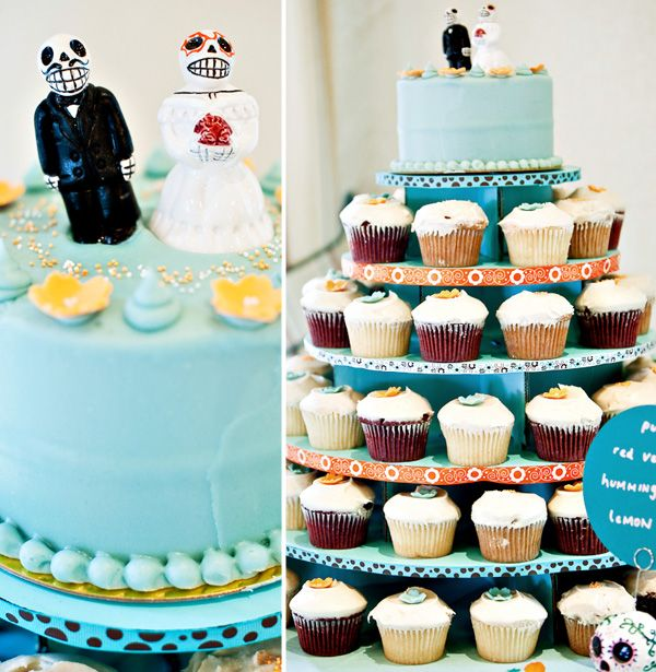 dia de los muertos, wedding cake, cake topper   Eat Me   Pinterest ...