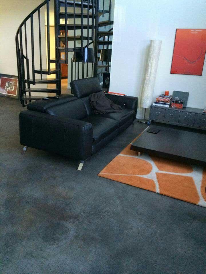 Concrete stain flooring this color is black granite ... on Black Granite Stain  id=31367