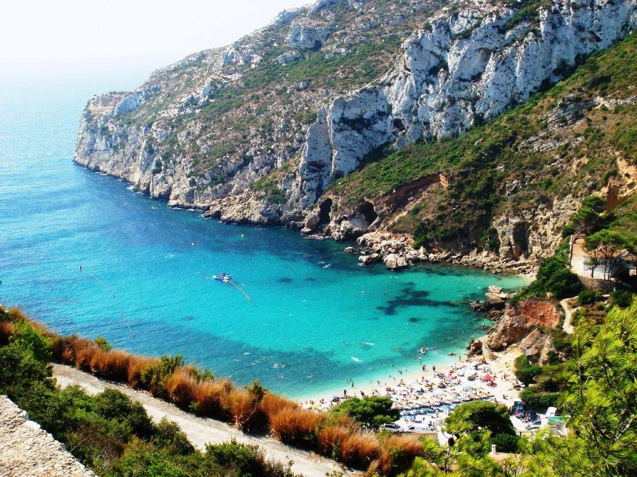 Playa De Granadella Javea Spanje Vakanties Vakantiebestemmingen
