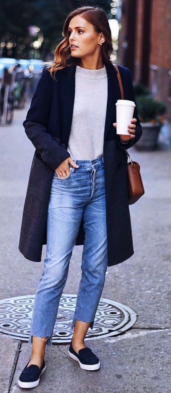 85 Cute Winter Outfits with Sneakers 2020 Cute casual