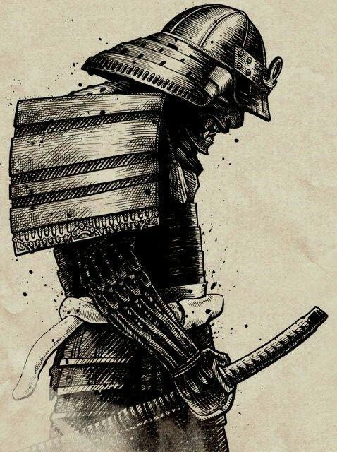 Armadura De Samurai Samurai Samurai Desenho Samurai