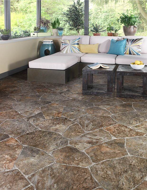 Rock Floor Volunteer Floor Covering Vinyl Tile Laminate