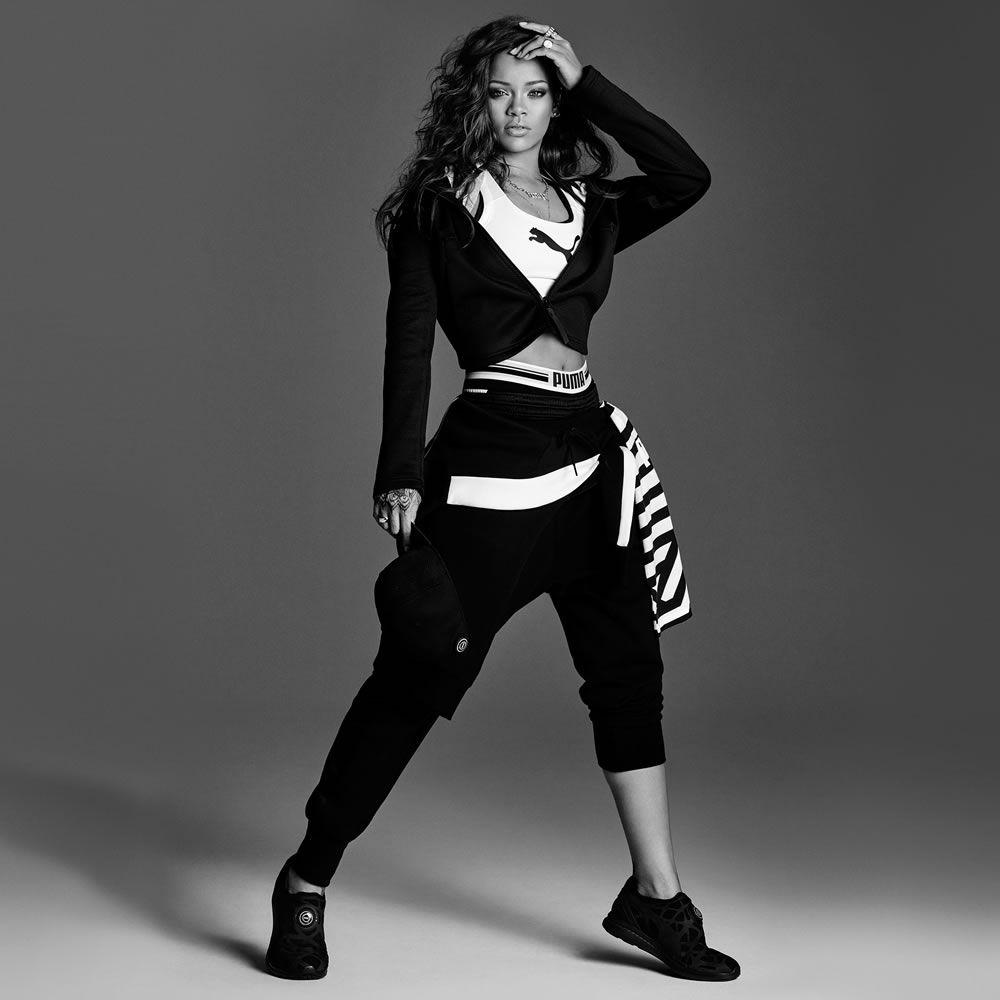 Rihanna In Puma Ignite Disc Sleeve