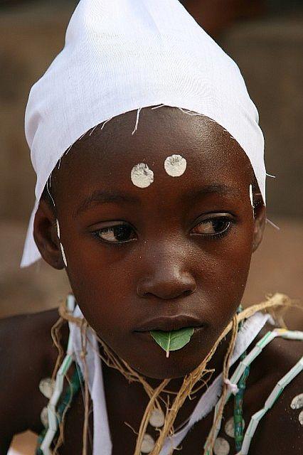 Krobo People - Ghana - Dipo Custom This Initial Ritual Will Transform The Girls To Women.