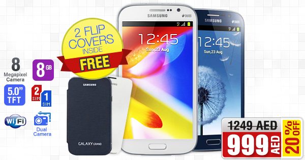 FREE Flip Covers +20% OFF - Samsung Galaxy Grand i9082 (Dual SIM, Dual Cam) *Limited Stock ➜ is.gd/id9glW