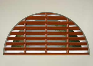 Affordable Wooden Arch Blinds Arched Window Coverings