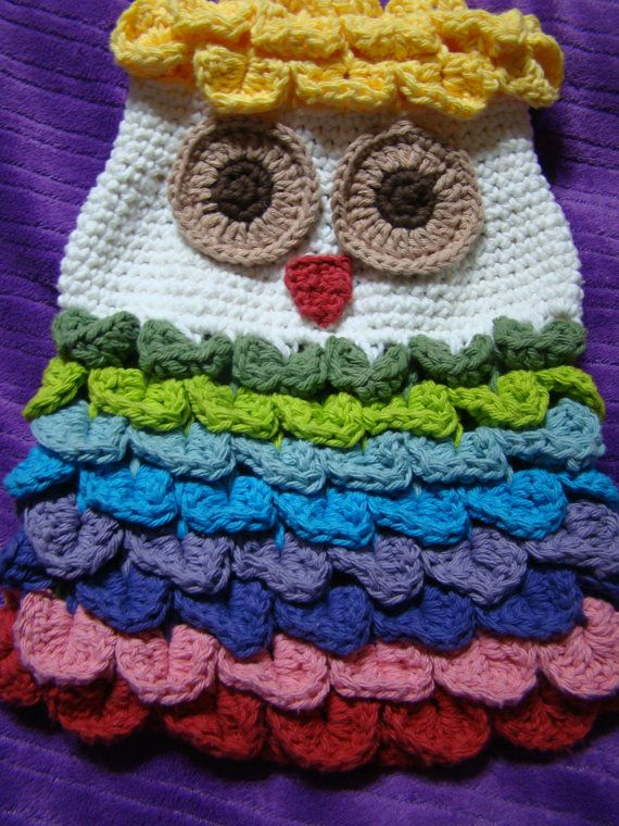 Crochet PDF PATTERN Owl Backpack OR Satchel by TheDaintyDaisy