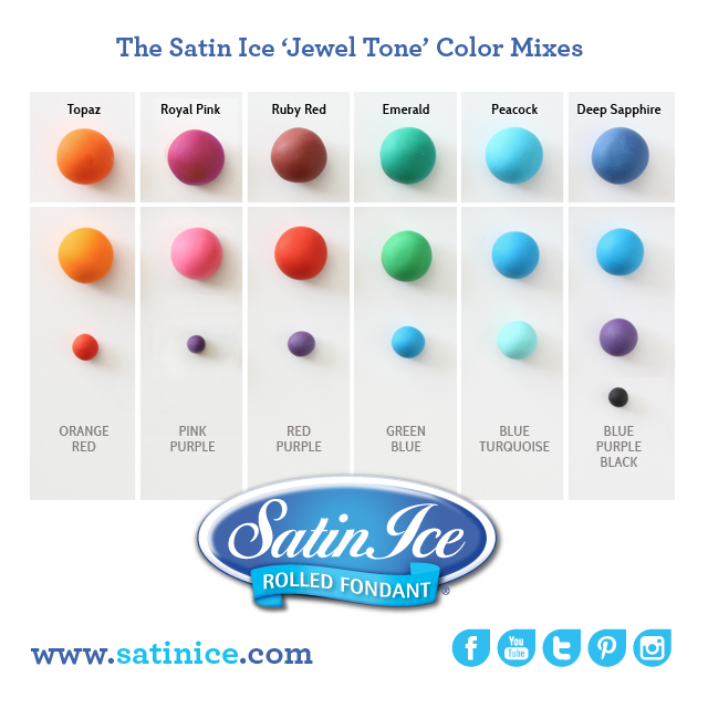 """Satin Ice Fondant on Twitter: """"NEW on http://t.co/hcRX2urRBu! Get inspired with the Jewel tone collection: http://t.co/6wtKUiPR22 http://t.co/LyVmdBRli0"""""""