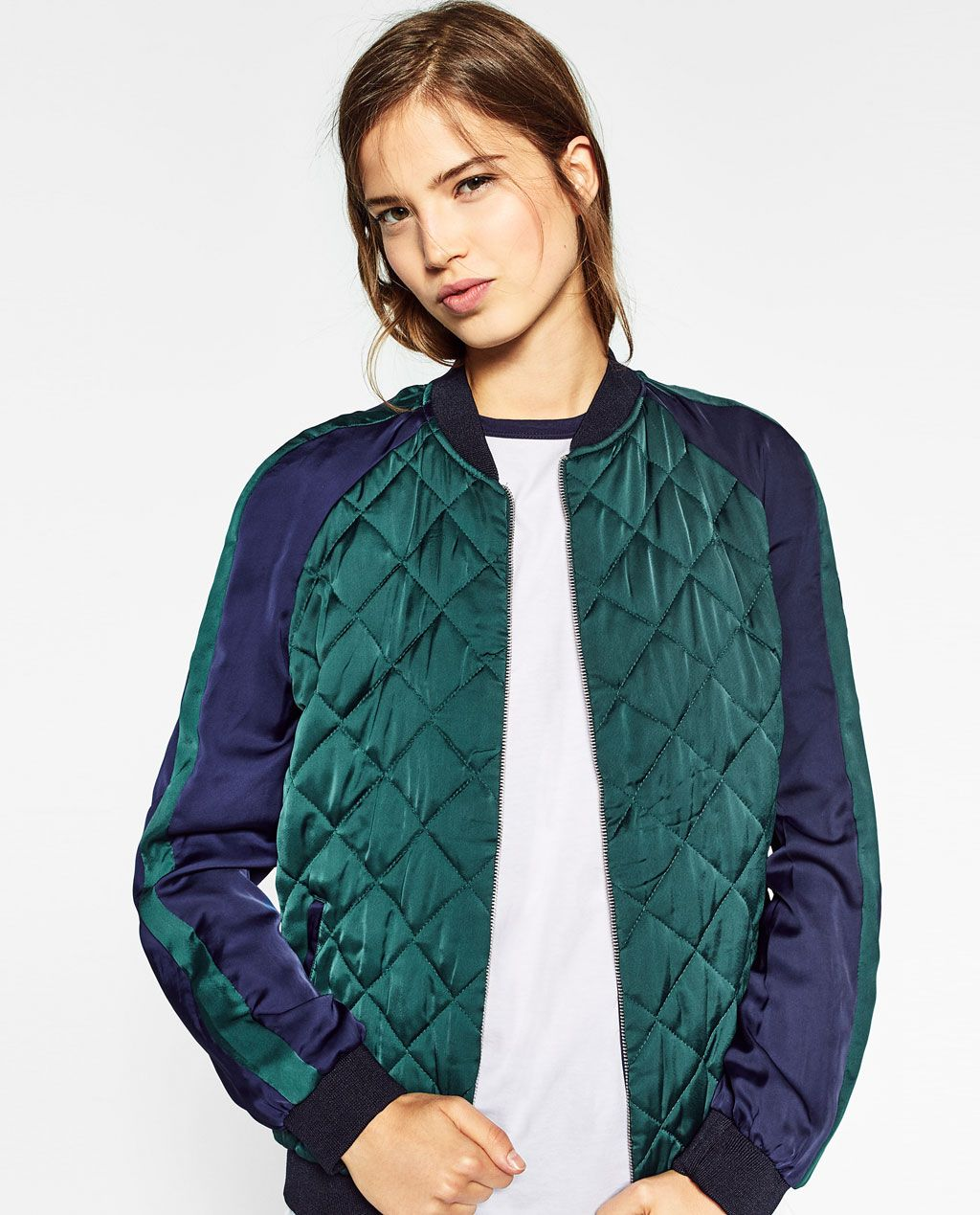 0df34053 Image 2 of EMBROIDERED REVERSIBLE BOMBER JACKET from Zara | Fall ...