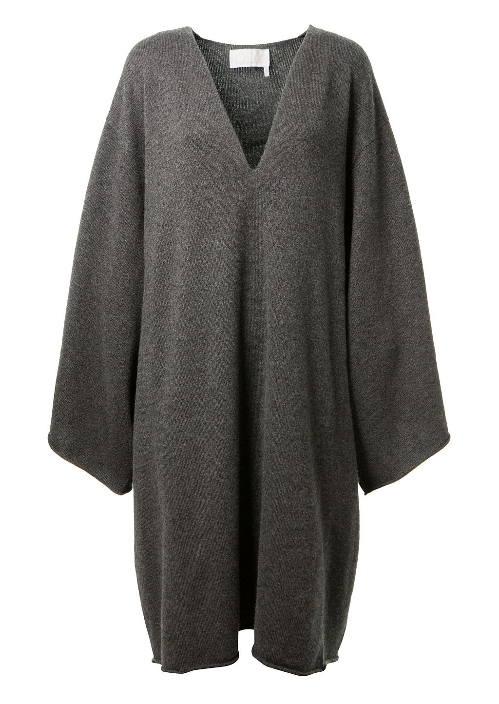 376e30a7b8d CHLOÉ Chloé Grey Cashmere Sweater Dress.  chloé  cloth