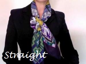 骨格診断ストレート ウェーブ ナチュラル タイプ別シルクスカーフの巻き方選び方 スカーフ エルメス スカーフの巻き方 スカーフの結び目