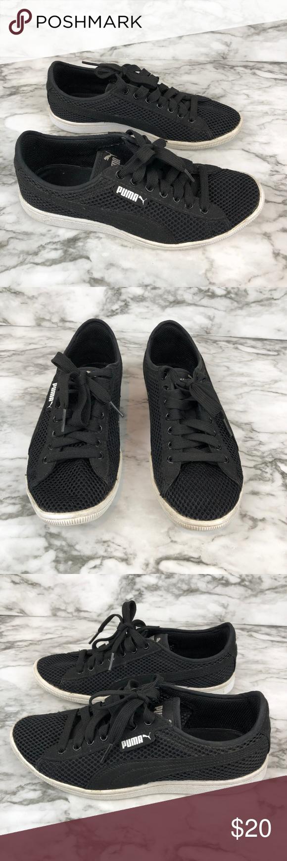 34c009c707c I just added this listing on Poshmark  Puma Black Memory Foam Sneakers Size  6.  shopmycloset  poshmark  fashion  shopping  style  forsale  Puma  Shoes